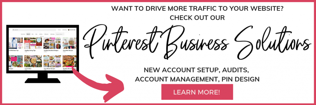 Pinterest Business Solutions and Services
